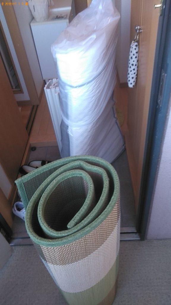 【東温市】カーペットなどの出張不用品回収・処分ご依頼 お客様の声