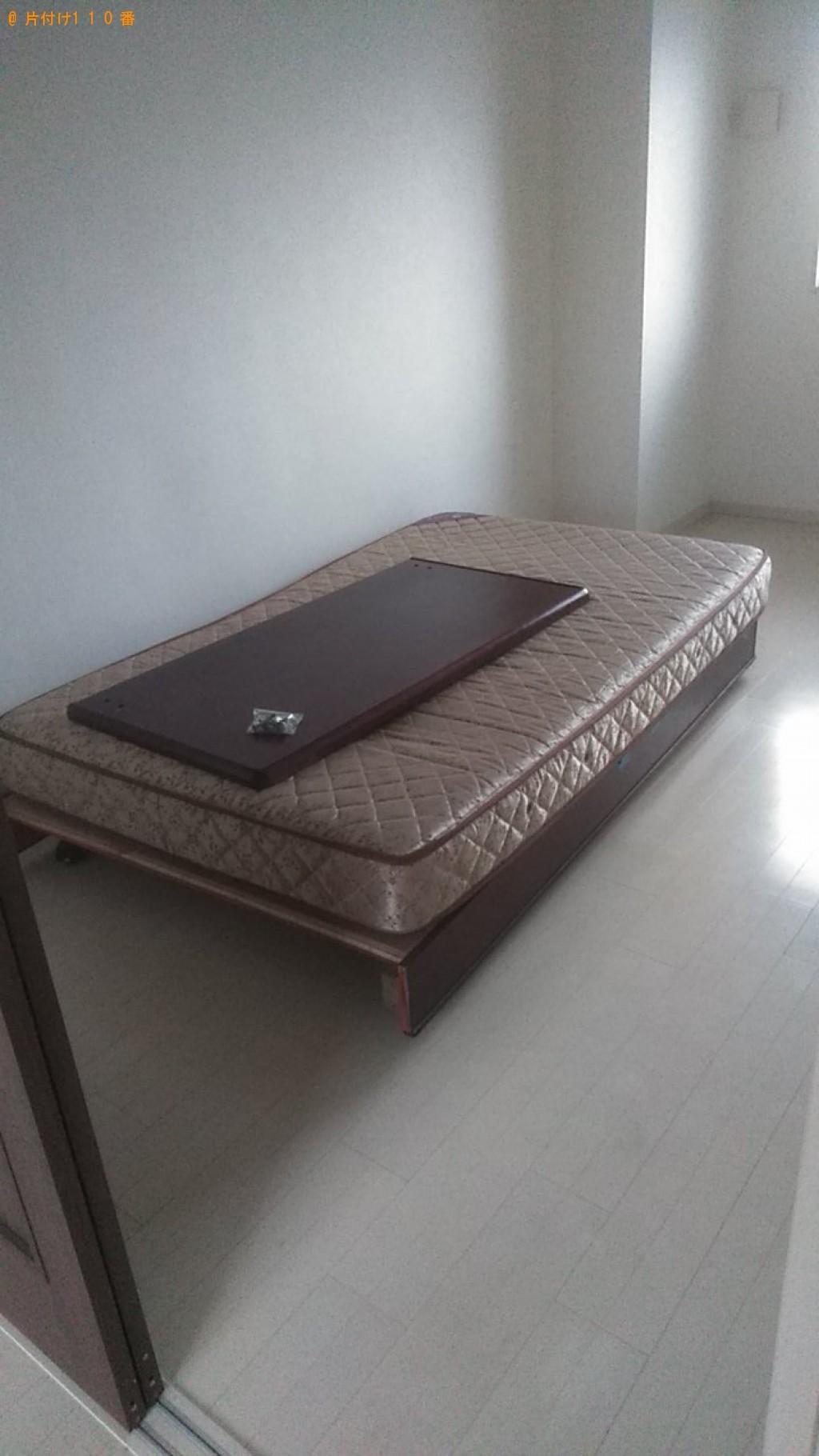 【松山市】ソファー、オットマン、ベッドの回収・処分ご依頼
