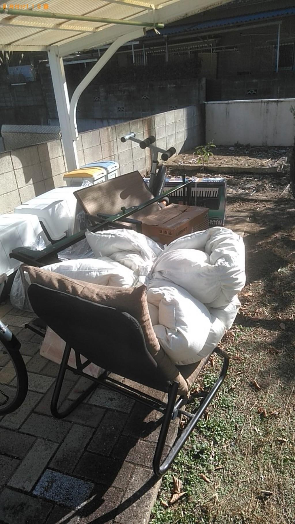 【松山市】椅子、布団、自転車、キーボード、畳の回収・処分ご依頼