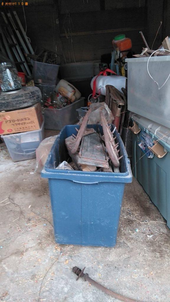 【紀北町】工具、タイヤ、金物の回収・処分ご依頼 お客様の声