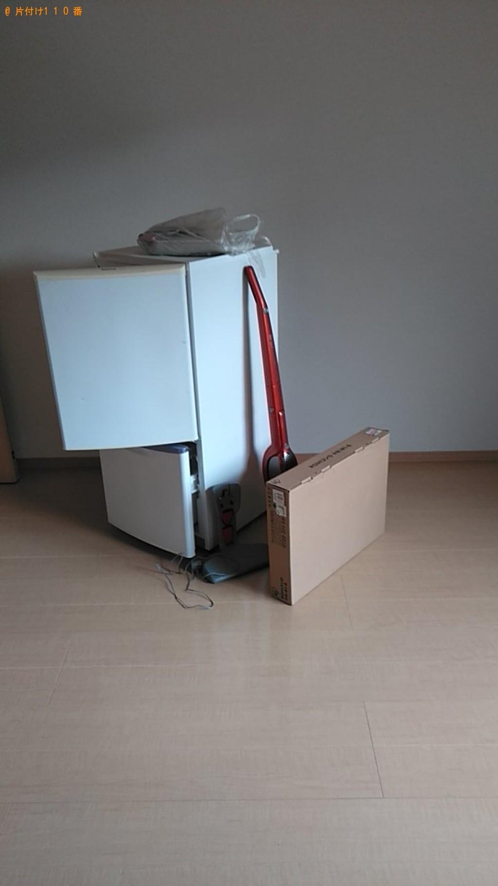 【松山市古川北】冷蔵庫、ガスコンロの回収・処分ご依頼 お客様の声