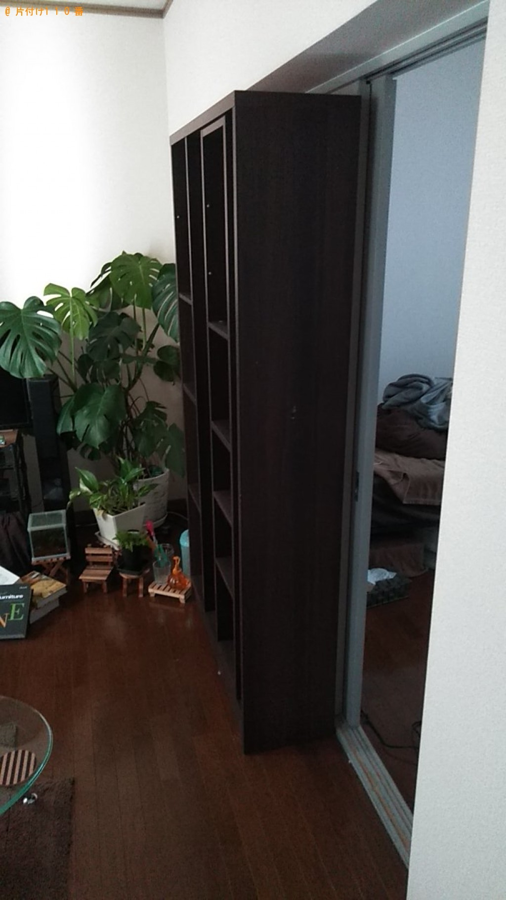 【松山市】本棚の回収・処分のご依頼 お客様の声