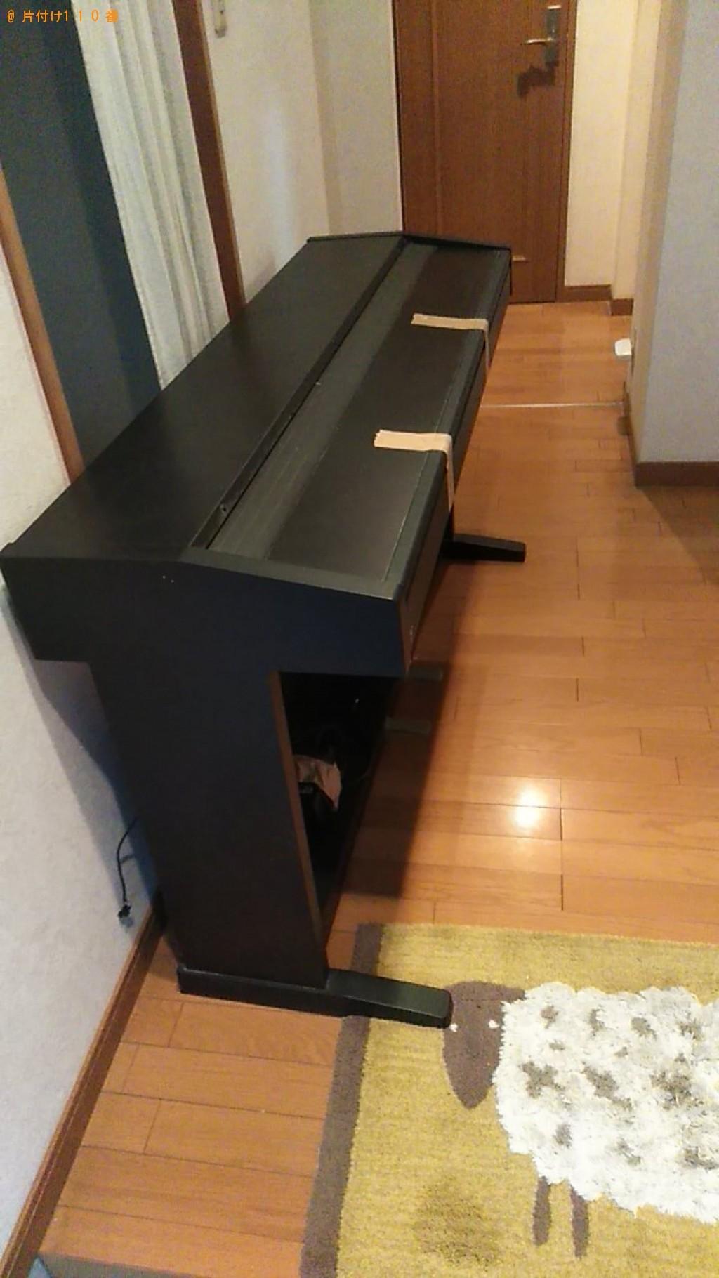 【西条市】電子ピアノの回収・処分ご依頼 お客様の声