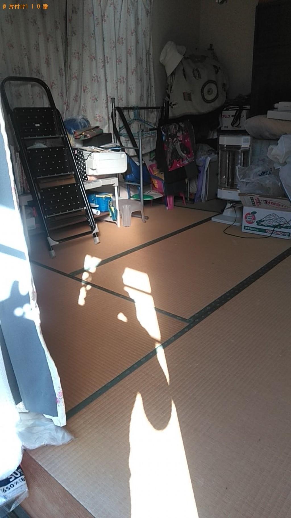 【松山市】ファンヒーター、収納棚の回収・処分ご依頼 お客様の声