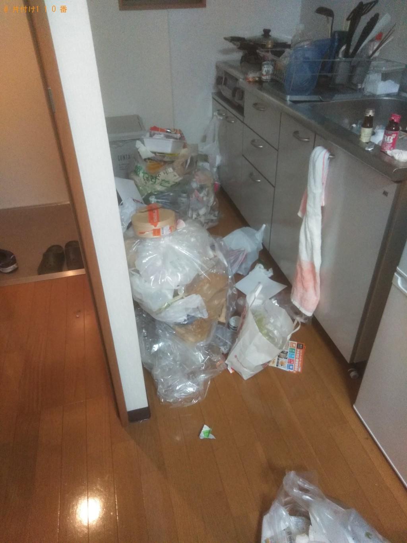 【東温市】細かい生活ゴミの回収・処分ご依頼 お客様の声