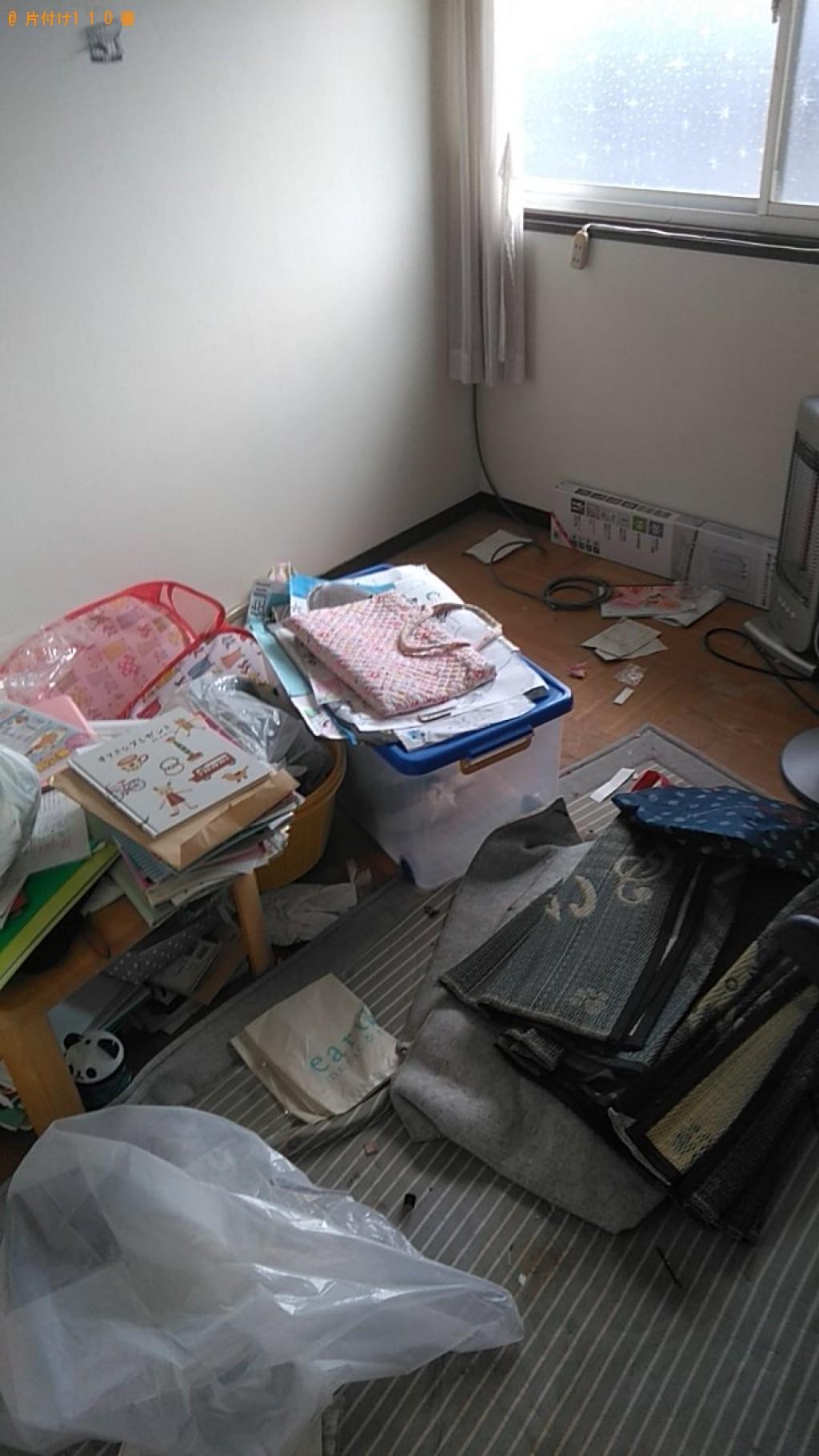 【松山市西長戸町】毛布、布団等の回収・処分ご依頼 お客様の声