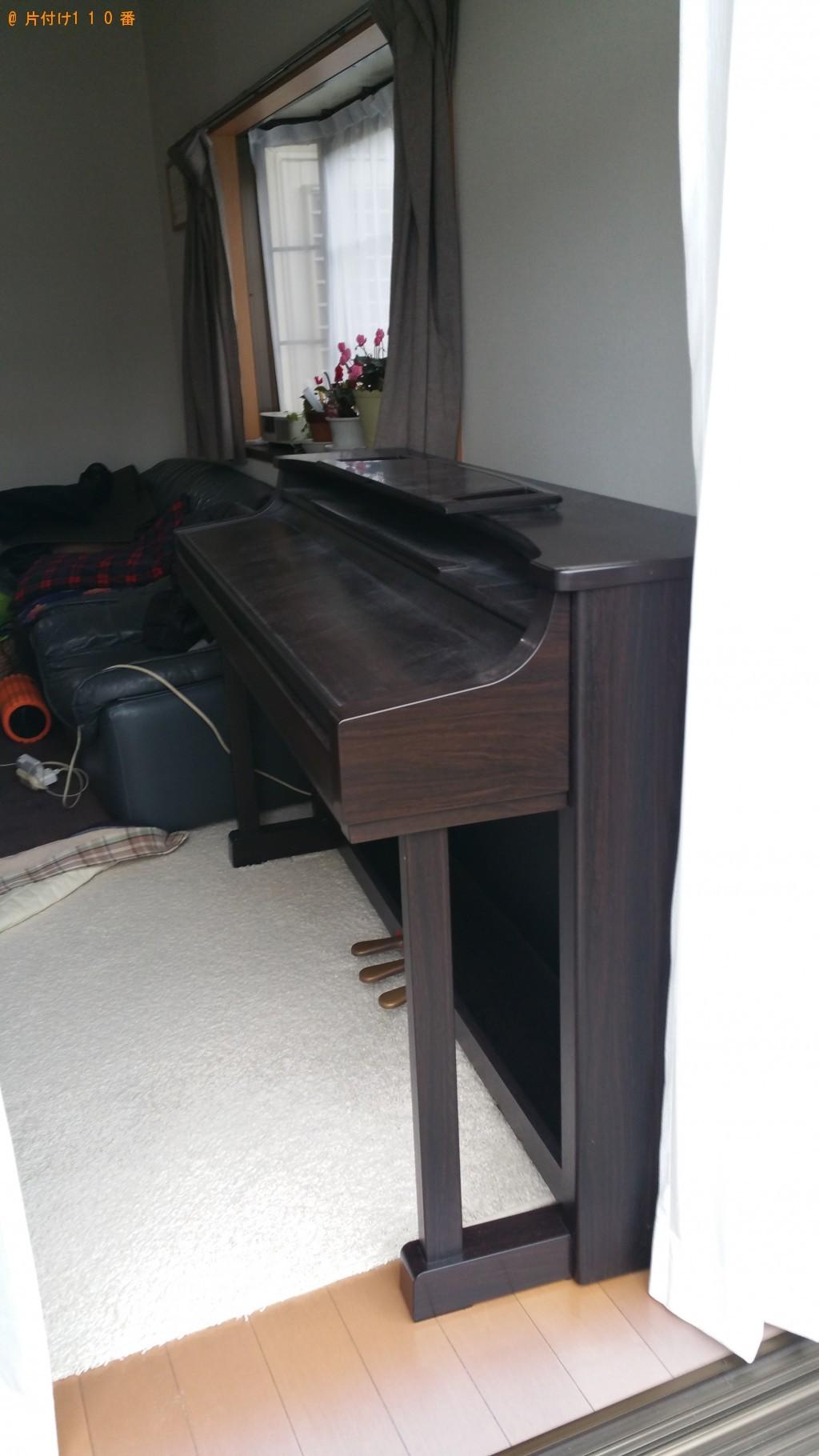 【伊予郡砥部町】電子ピアノの回収・処分ご依頼 お客様の声