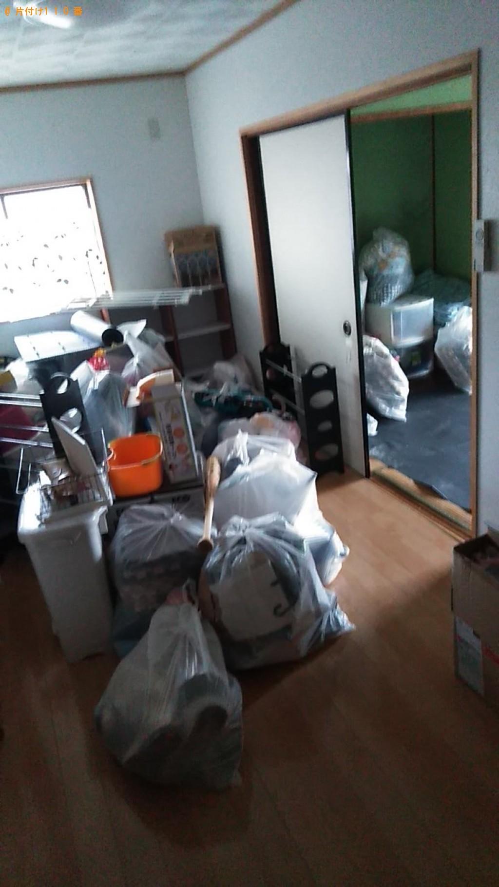 【大洲市】テレビ、収納棚等の回収・処分ご依頼 お客様の声
