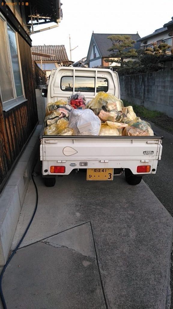 【東員町】座椅子、分別なし衣類、雑誌、分別なし家庭ごみの回収