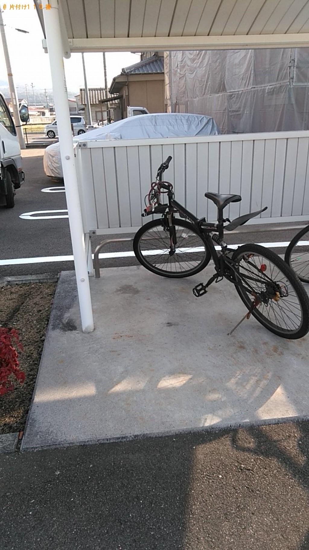 【西条市】電動自転車の回収・処分ご依頼 お客様の声