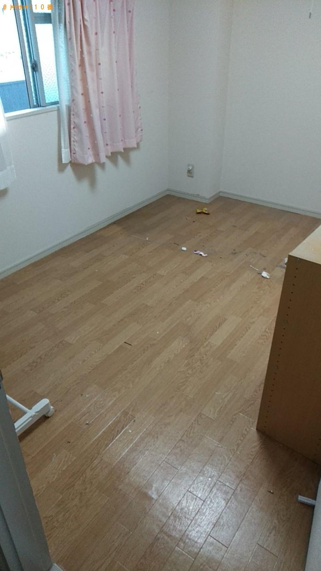 【松山市】こたつ、シングルベッド、カラーボックス等の回収・処分
