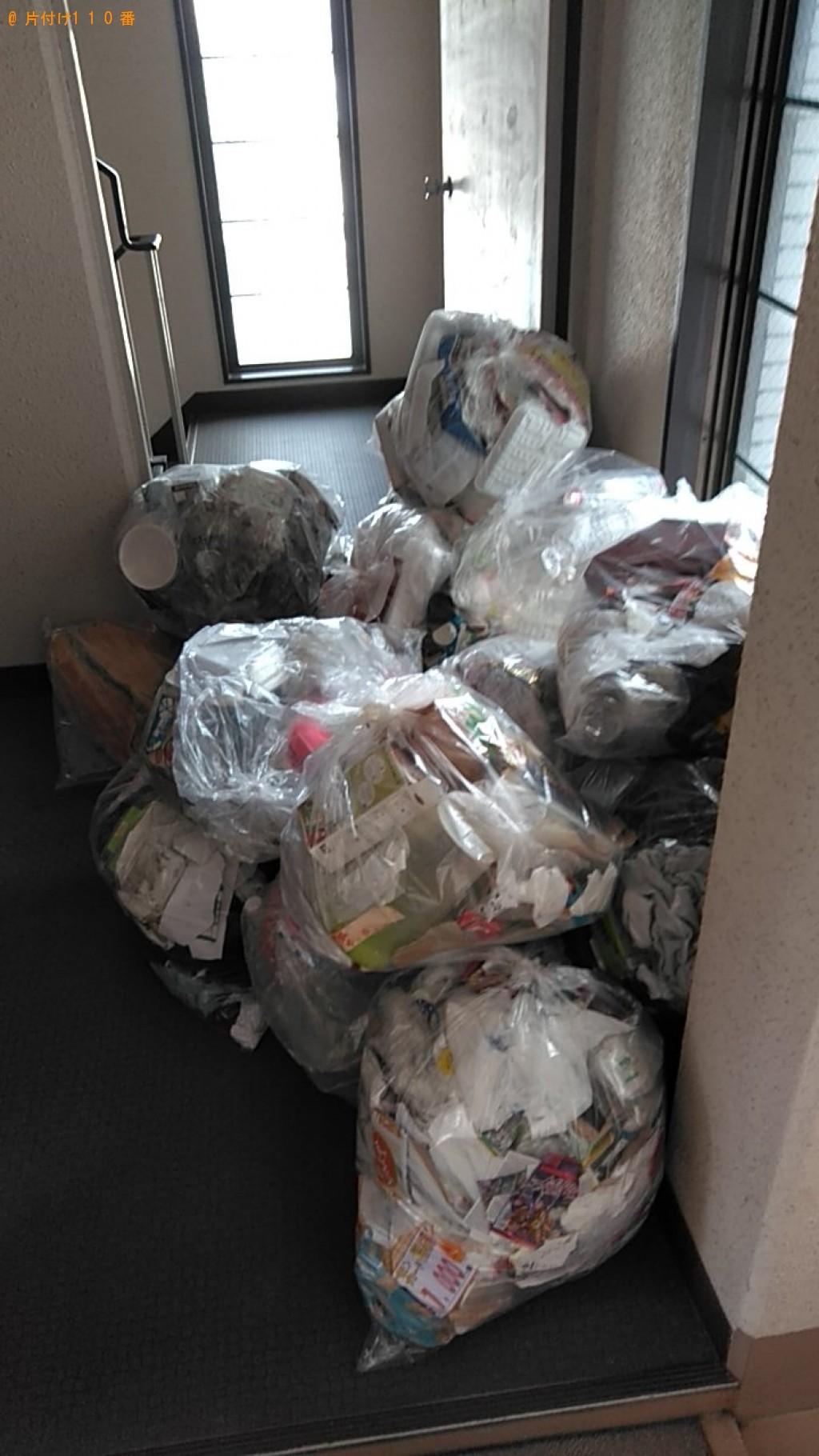【松山市】軽トラック1台程度の出張不用品の回収・処分ご依頼