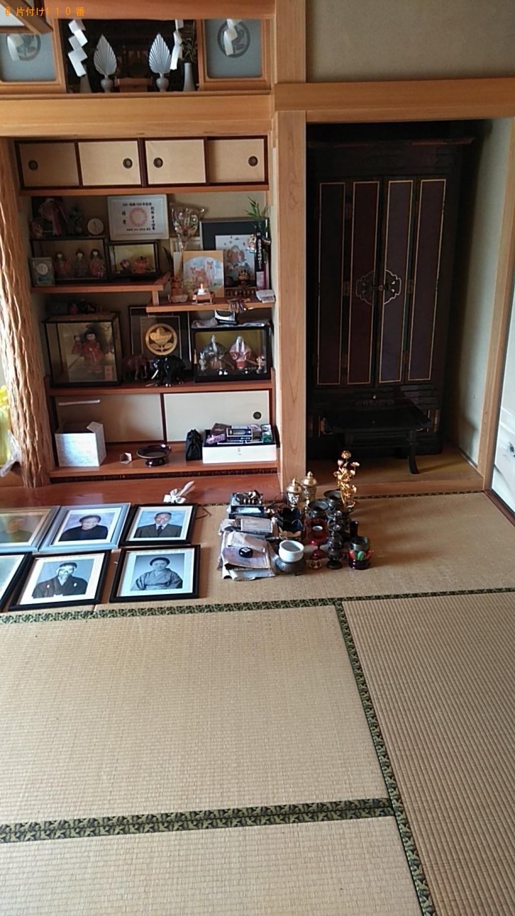 仏壇、遺影等の回収・処分ご依頼 お客様の声