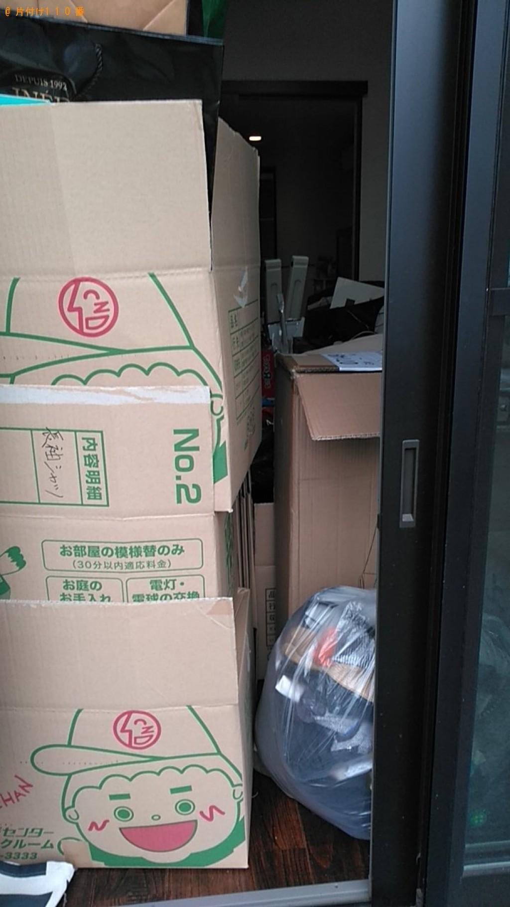 【松山市】ローテーブル、布団、ワインセラー、衣類等の回収・処分
