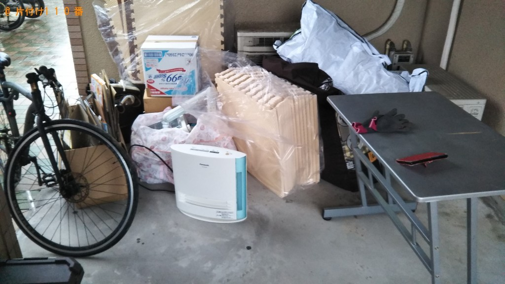 【今治市】カウンターテーブル、自転車等の回収・処分ご依頼