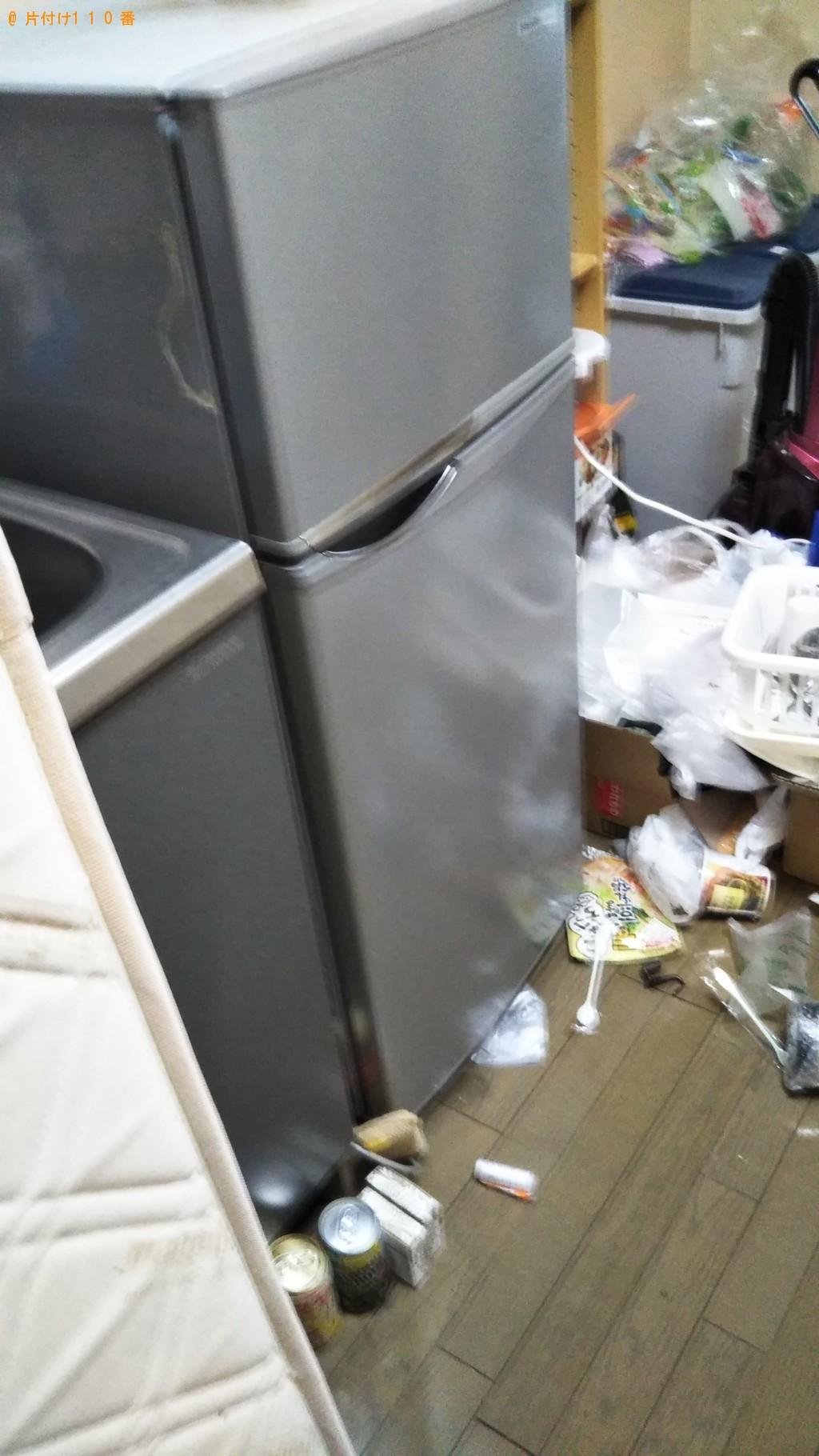【松山市】冷蔵庫、洗濯機、シングルベッドの回収・処分ご依頼