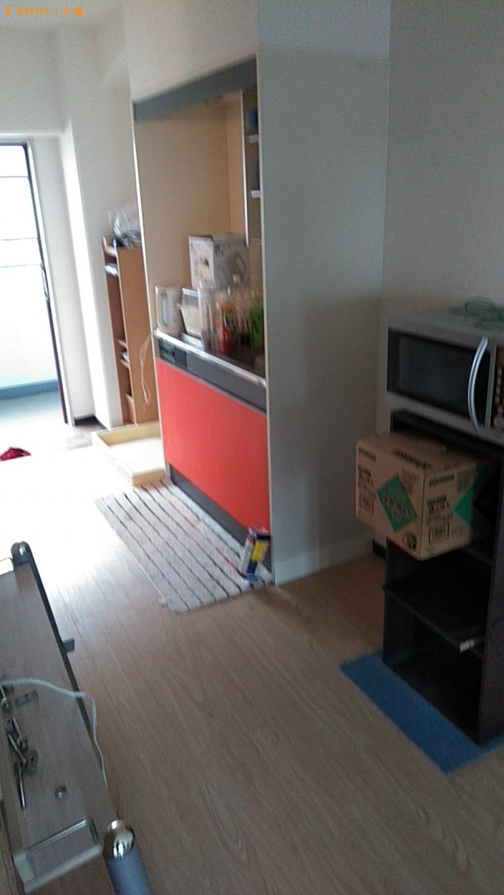 【松山市】冷蔵庫、テレビ、洗濯機の回収・処分ご依頼 お客様の声