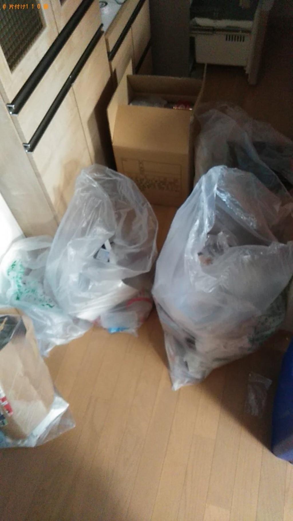 【東温市】座椅子、分別していない家庭ごみ等の回収・処分ご依頼
