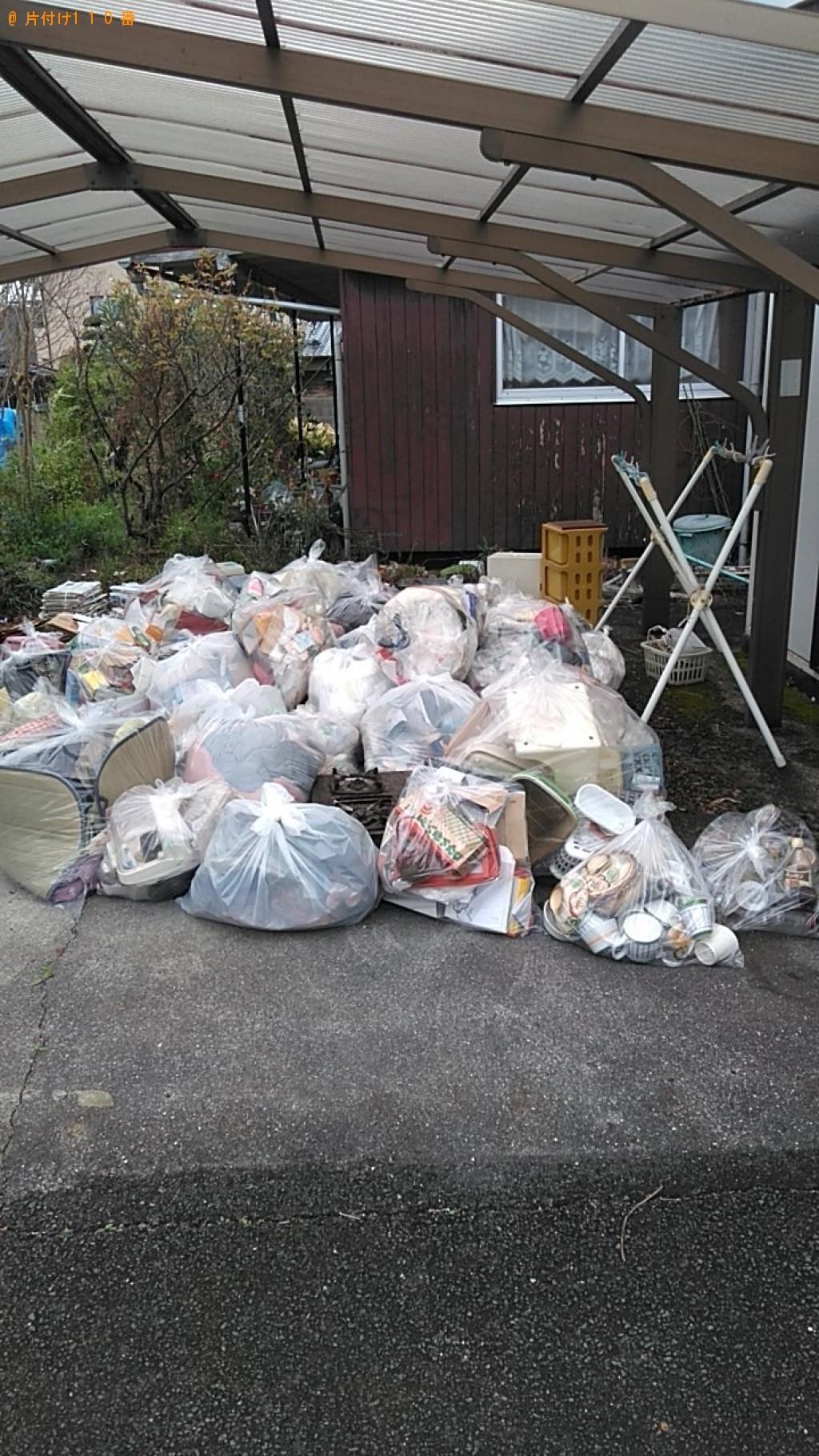 【東温市】自転車、衣類、陶器類、プラゴミ等の回収・処分ご依頼