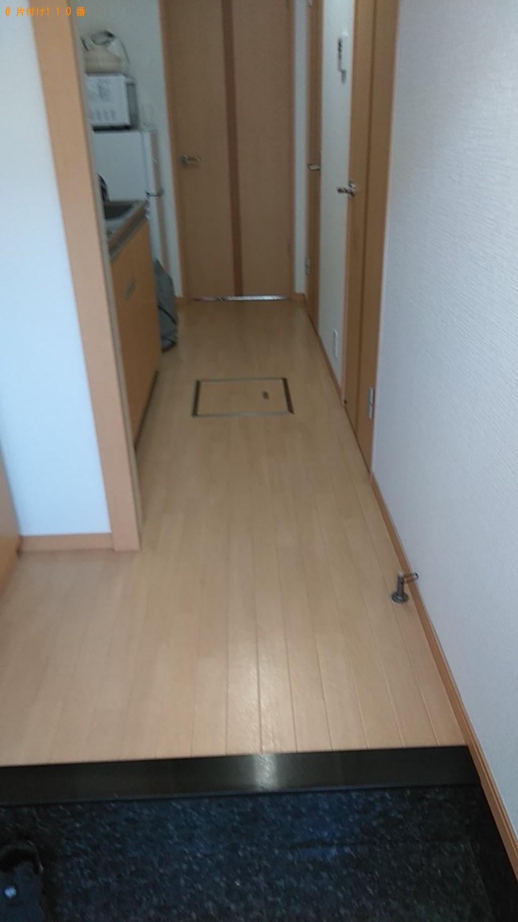 【松山市】シングルベッド、布団、机の引き出し等の回収・処分ご依頼