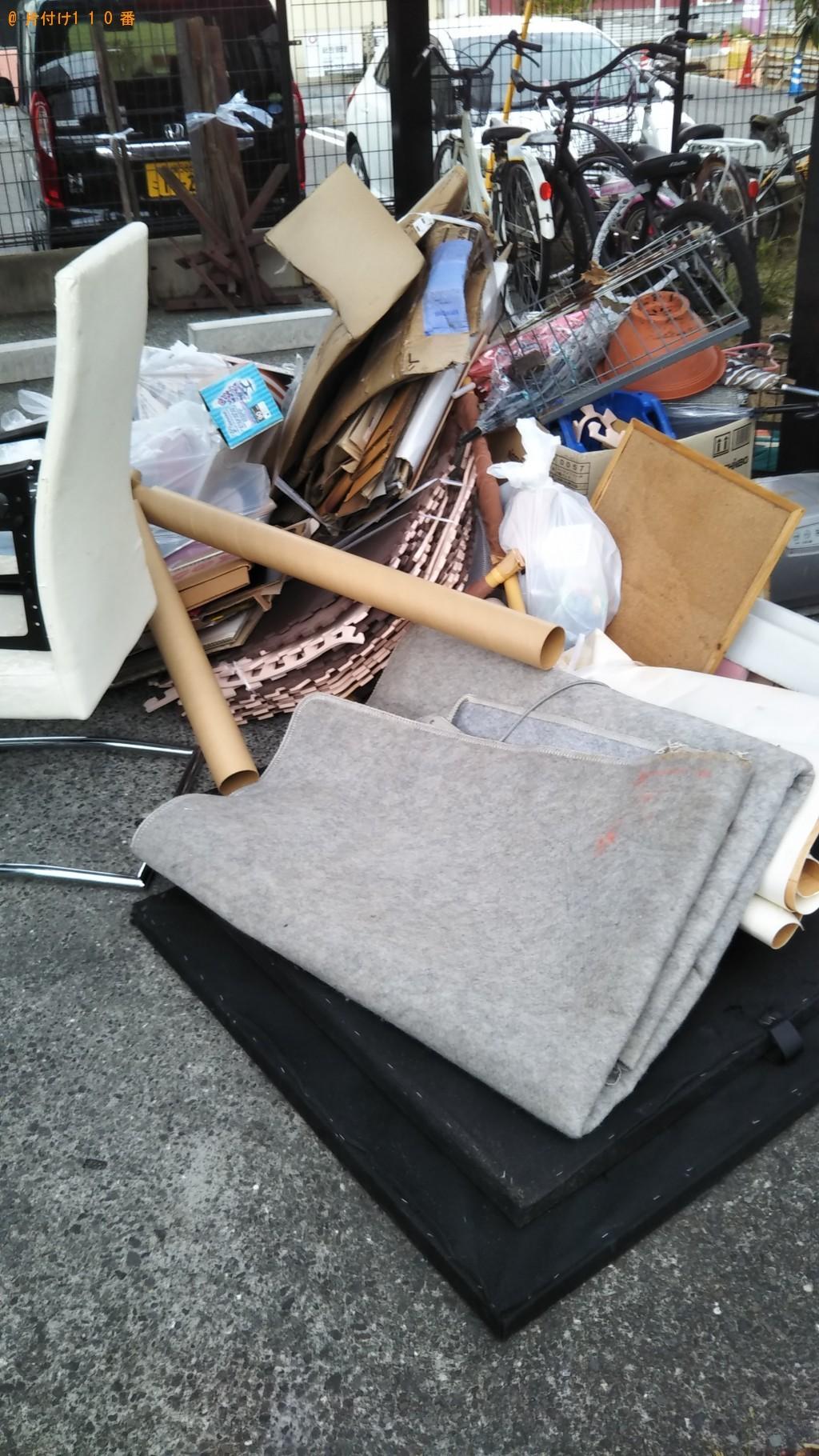 【松山市朝生田町】軽トラック1台程度の出張不用品の回収・処分ご依頼
