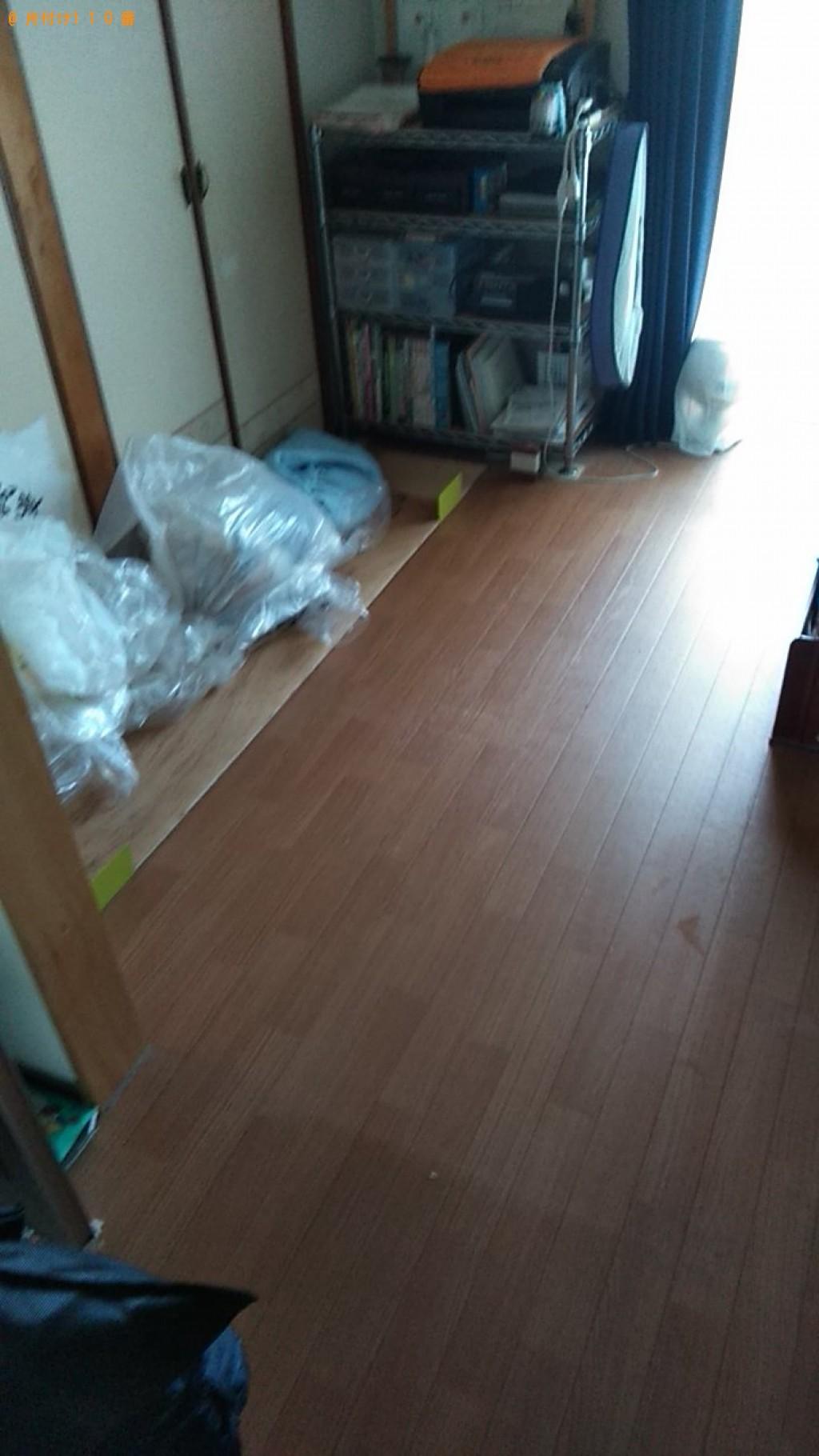 【松山市湊町】ウレタンマットレス、布団の回収・処分ご依頼