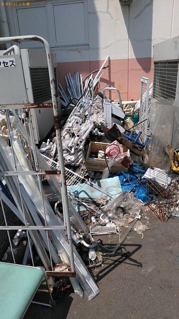 【四国中央市】軽トラック1台程度の出張不用品の回収・処分ご依頼