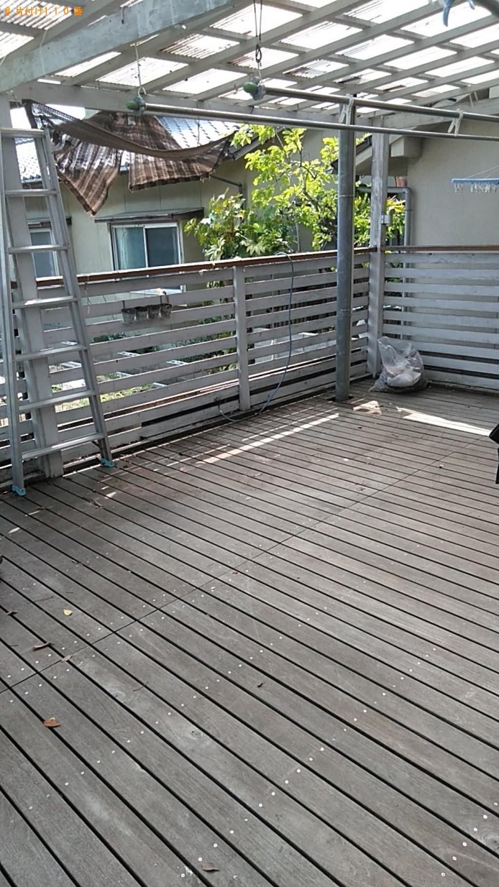 【松山市】冷凍庫、木材、PCモニター、ペンキの空缶等の回収・処分