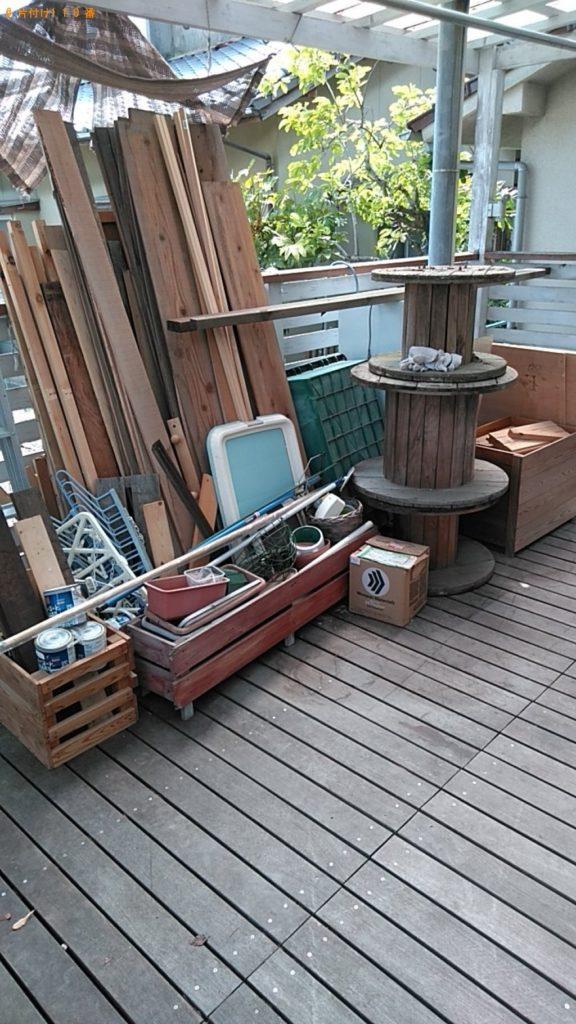 【志摩市】冷凍庫、木材、PCモニター、ペンキの空缶等の回収・処分