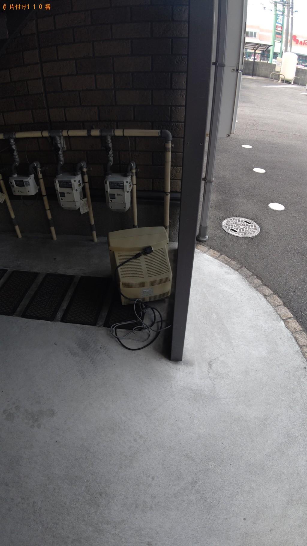 【松山市】パソコンのモニターの回収・処分ご依頼 お客様の声