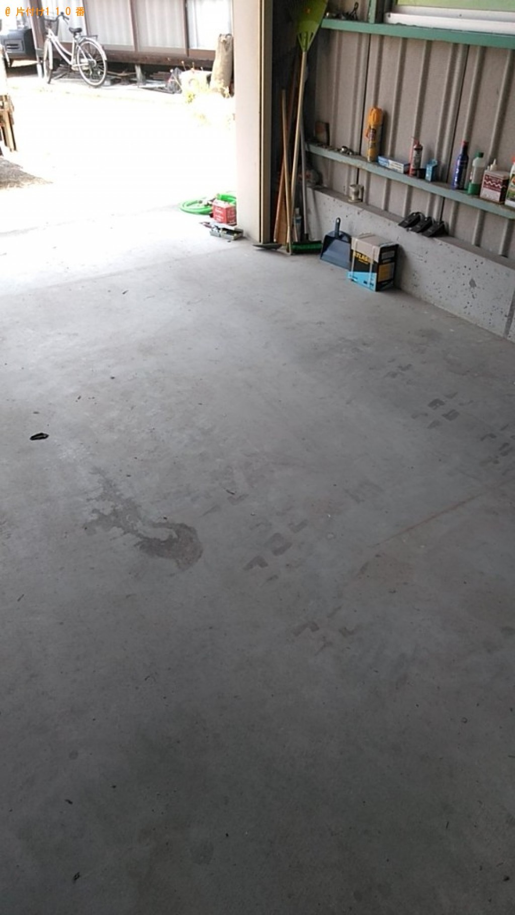 【西条市】家具、錆びた工具、ネジ、本等の回収・処分ご依頼