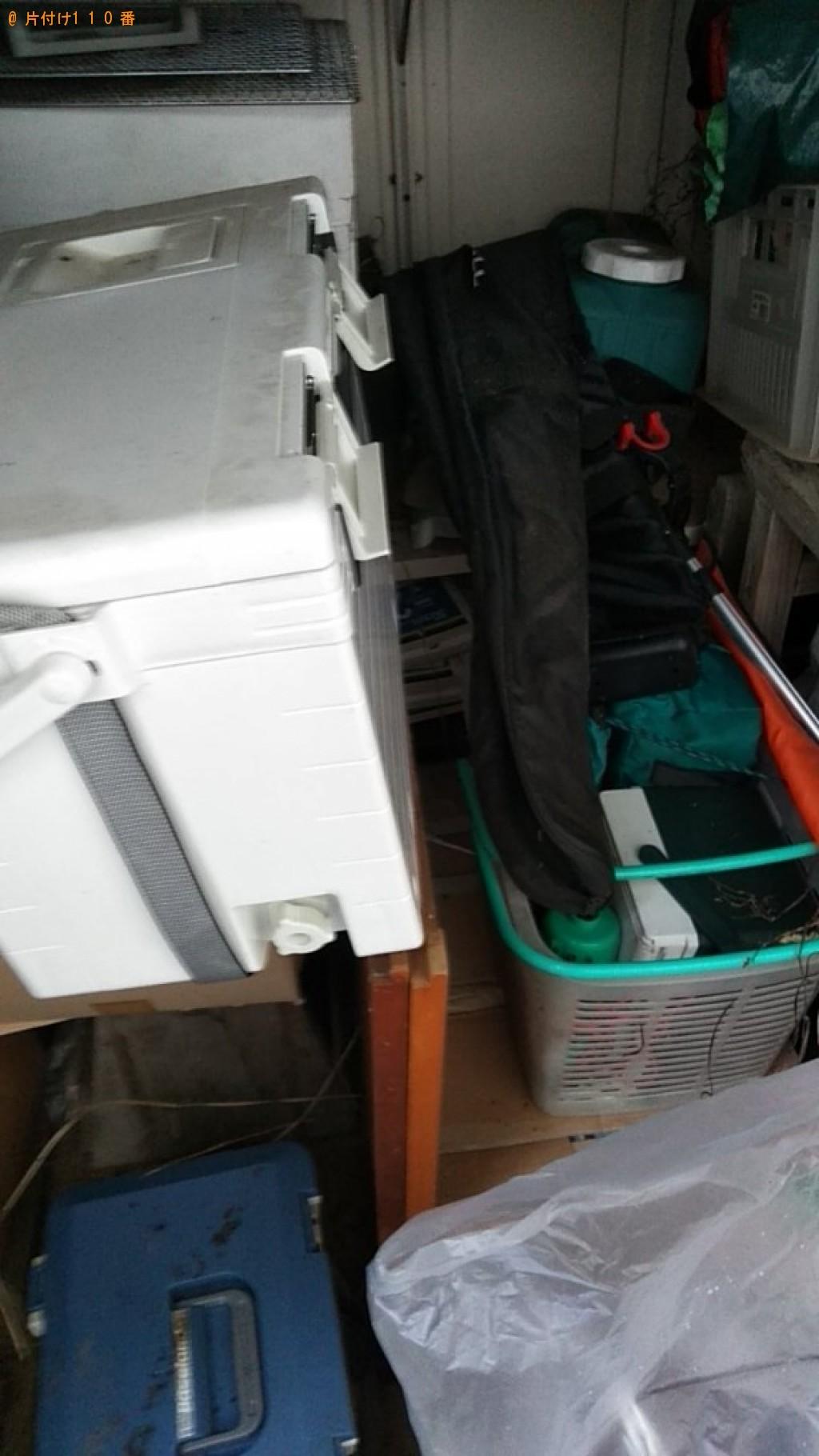 【東温市】軽トラック1台程度の出張不用品回収・処分ご依頼