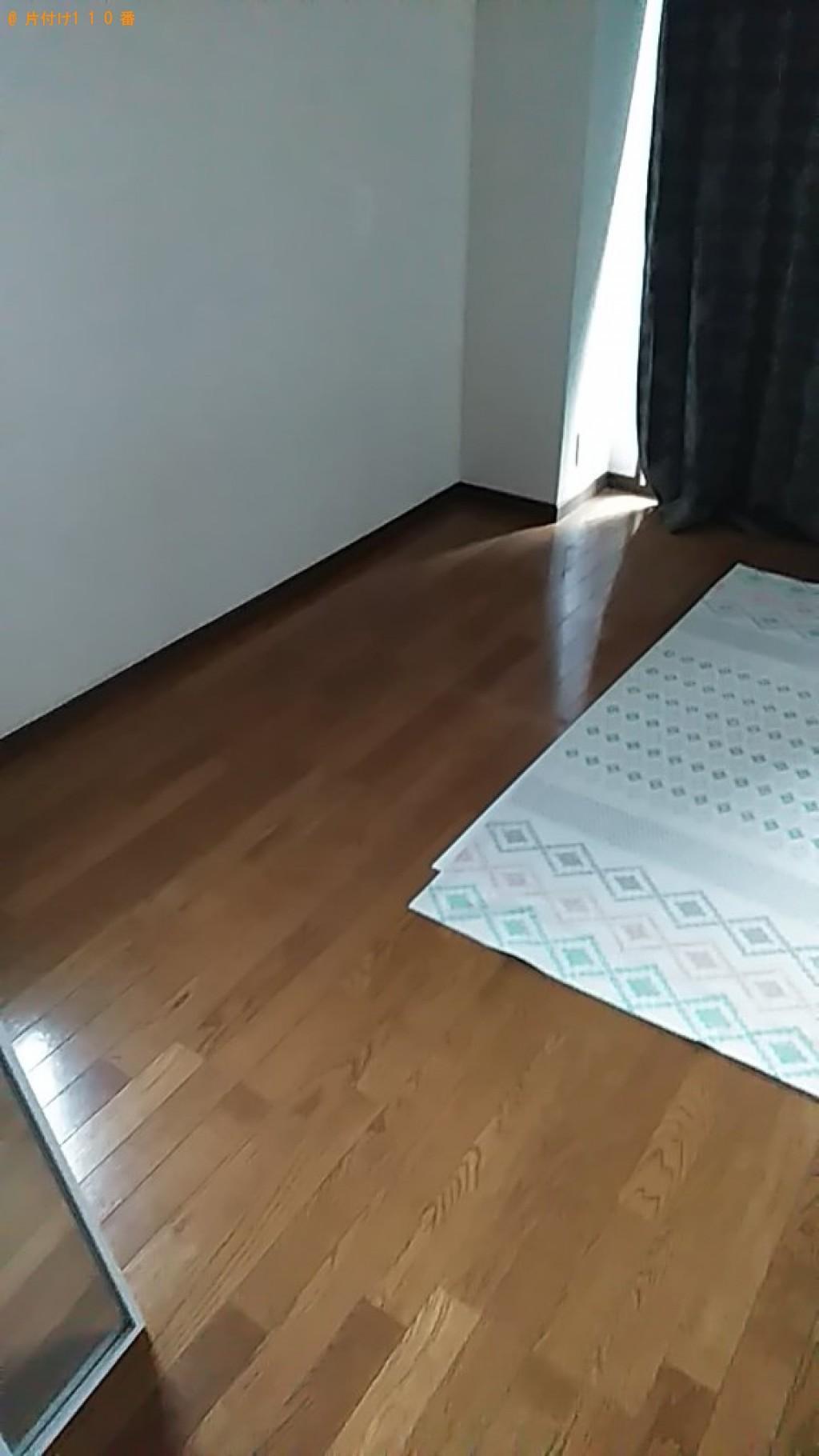 【今治市喜田村】シングルベッド、シングルベッドマットレスの回収