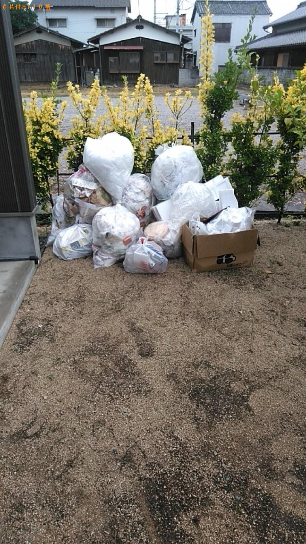【松山市】一般ごみの回収・処分ご依頼 お客様の声