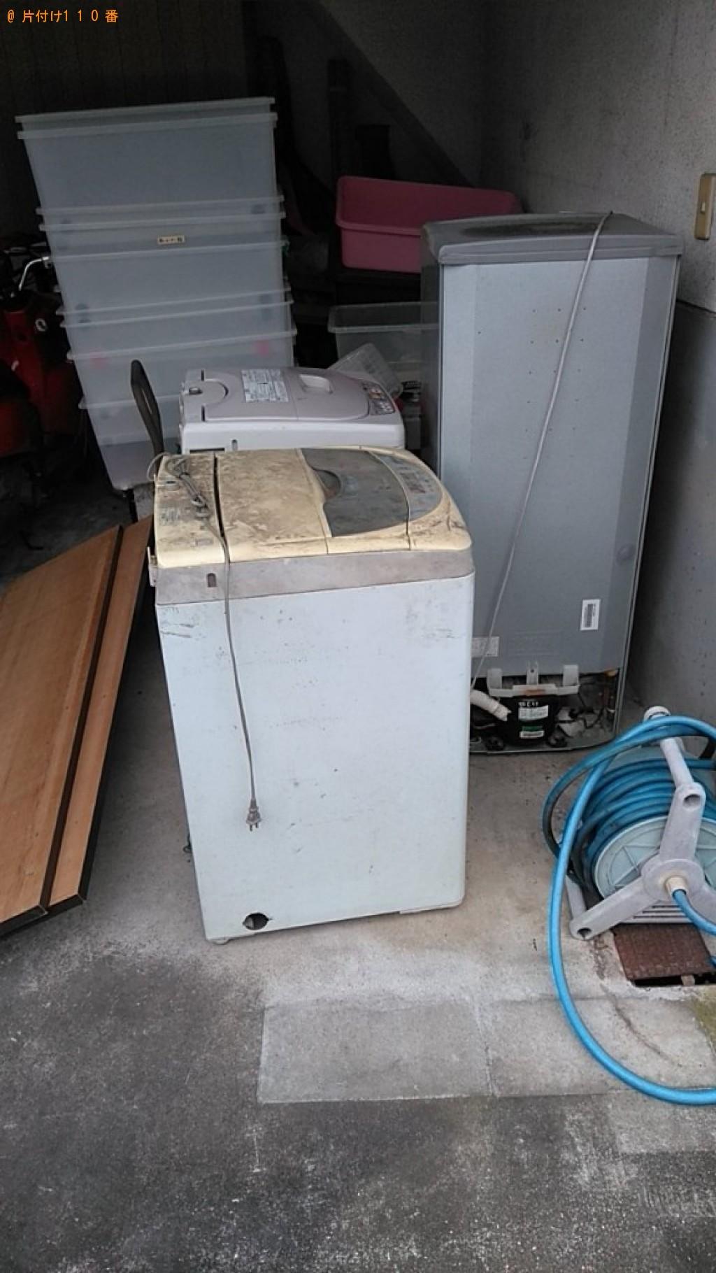 【松山市】洗濯機、冷蔵庫の回収・処分ご依頼 お客様の声