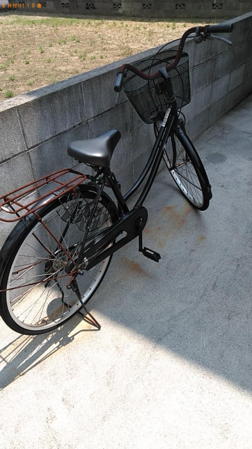 【松山市山越町】蜂が付いた自転車の回収・処分ご依頼 お客様の声