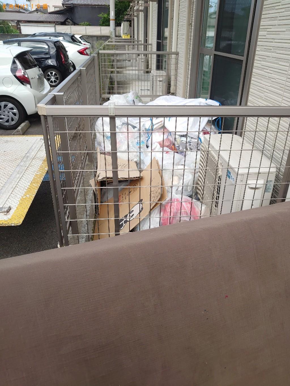 【松山市】シングルベッド、ベッドマットレス、一般ごみの回収・処分
