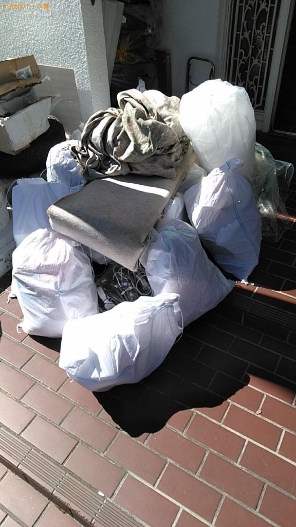 【久万高原町】軽トラック1台程度の出張不用品回収・処分ご依頼