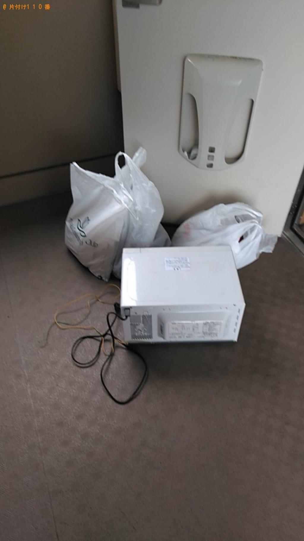 【松山市】電子レンジ等の回収・処分ご依頼 お客様の声