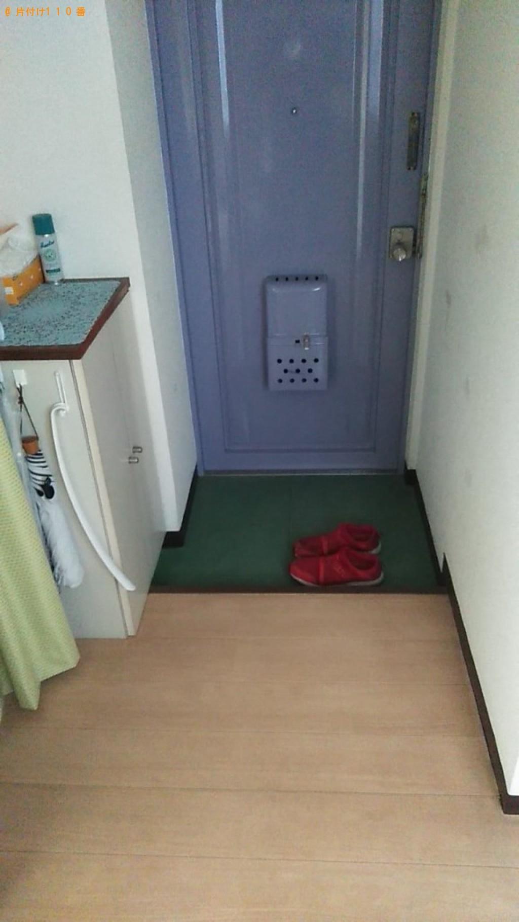 【松山市木屋町】こたつ、シングルベッド、ベッドマットレス等の回収