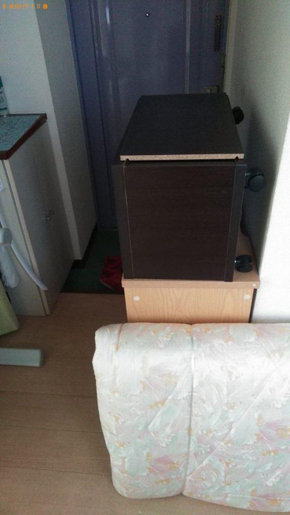 【鹿嶋市】遺品整理に伴いこたつ、シングルベッド、ベッドマットレス等の回収