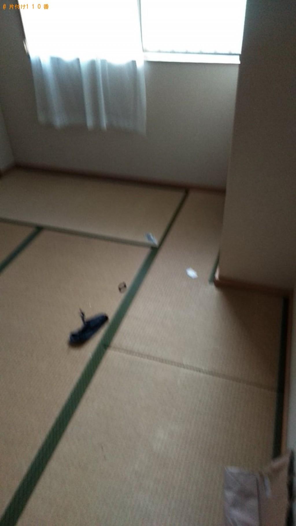 【大洲市長浜町】折り畳みベッド、布団、小型家電等の回収・処分