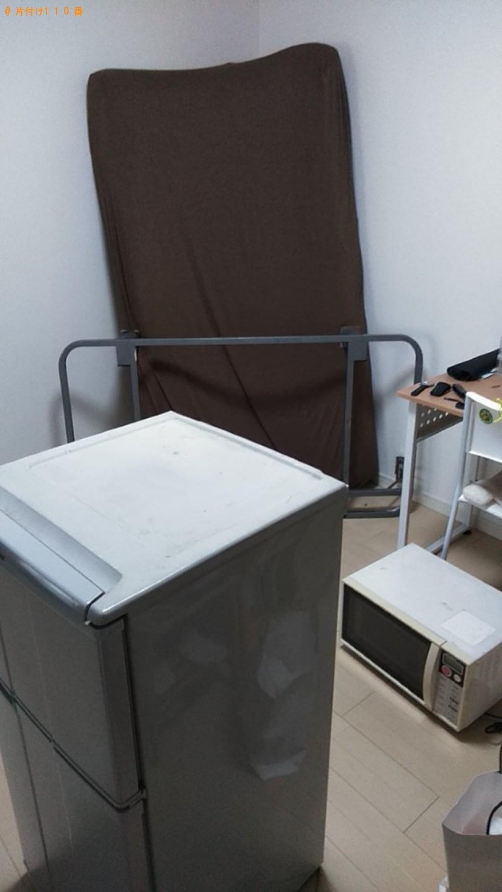 【松山市】冷蔵庫、ソファーベッド、小型家電等の回収・処分ご依頼