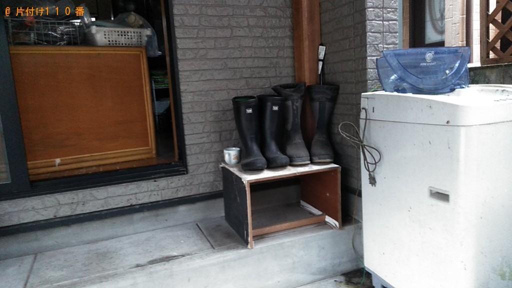 【松山市勝岡町】洗濯機、タンス、衣装ケース等の回収・処分ご依頼