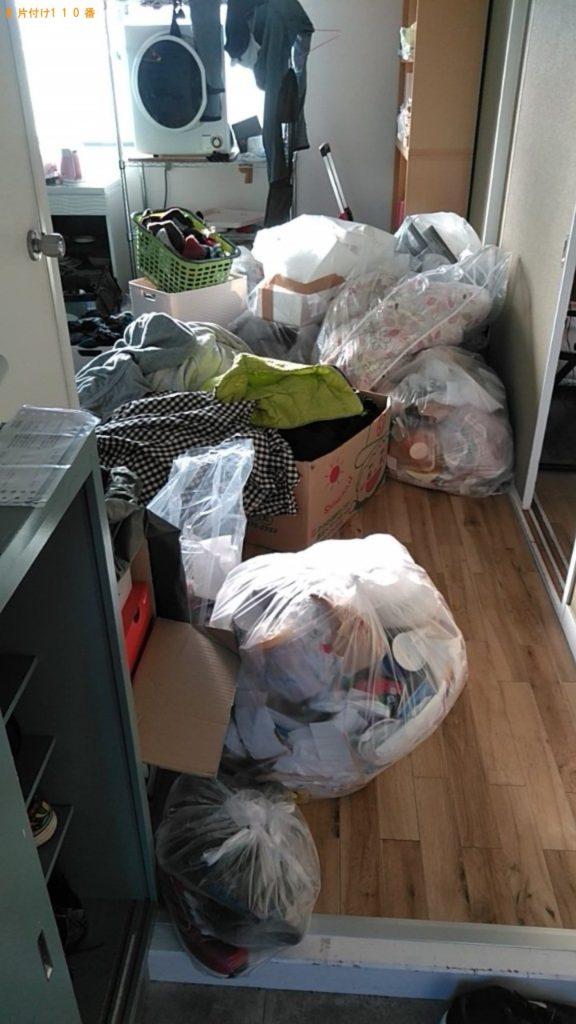 【青梅市】一般ごみ、カゴ、布団等の回収・処分ご依頼