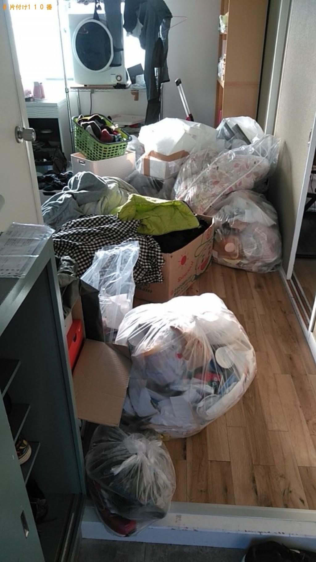 【松山市河原町】一般ごみ、カゴ、布団等の回収・処分ご依頼