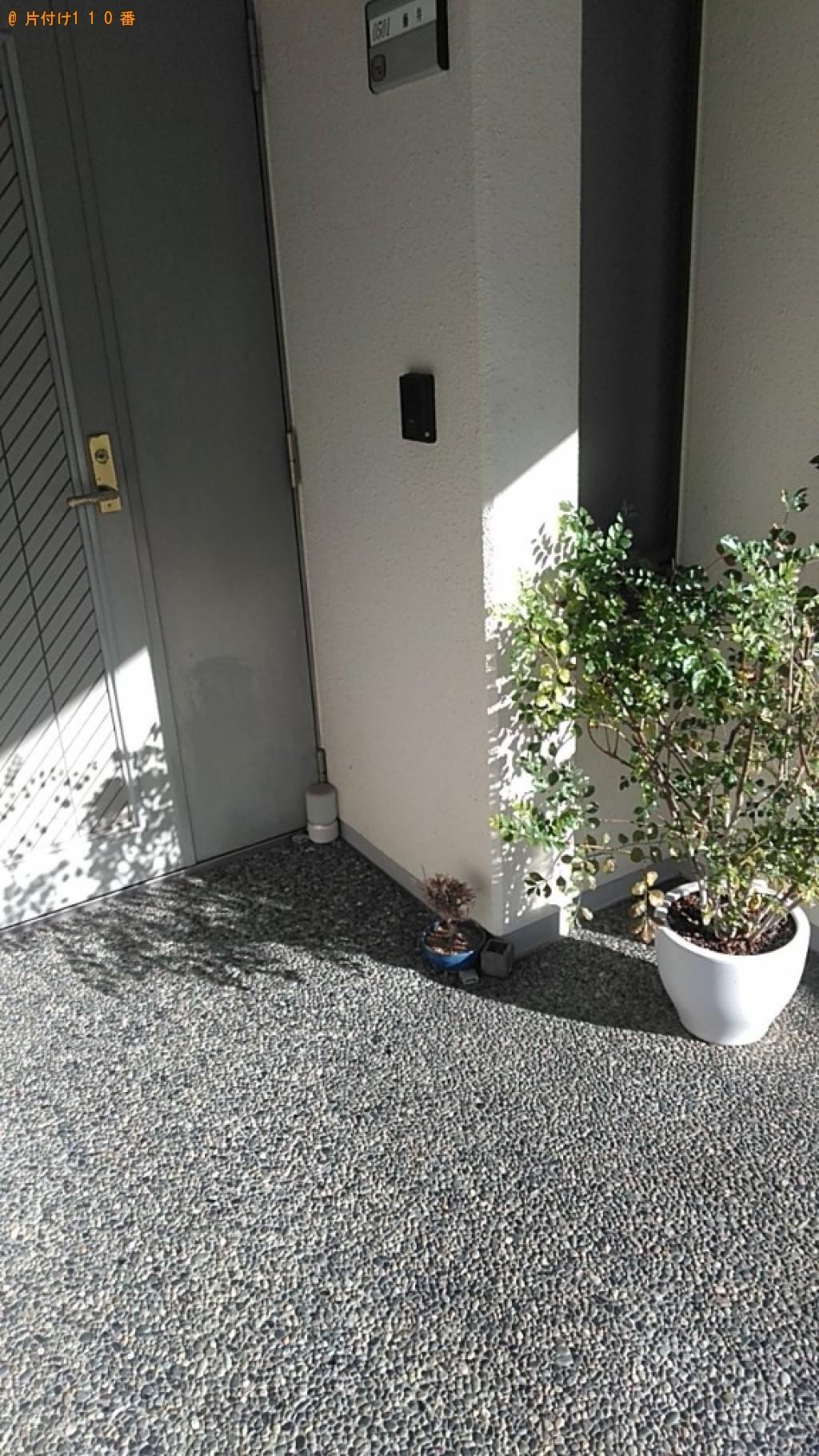【松山市】セミダブルマットレスの回収・処分ご依頼 お客様の声