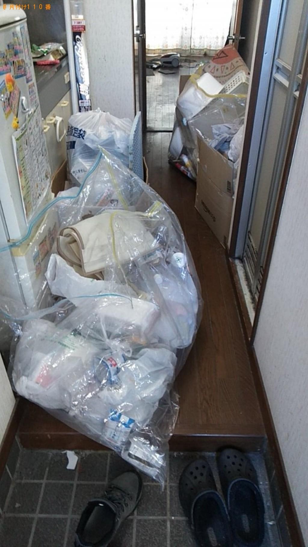 【伊予郡砥部町】室内物干し、釣り竿、長靴、一般ごみ等の回収・処分