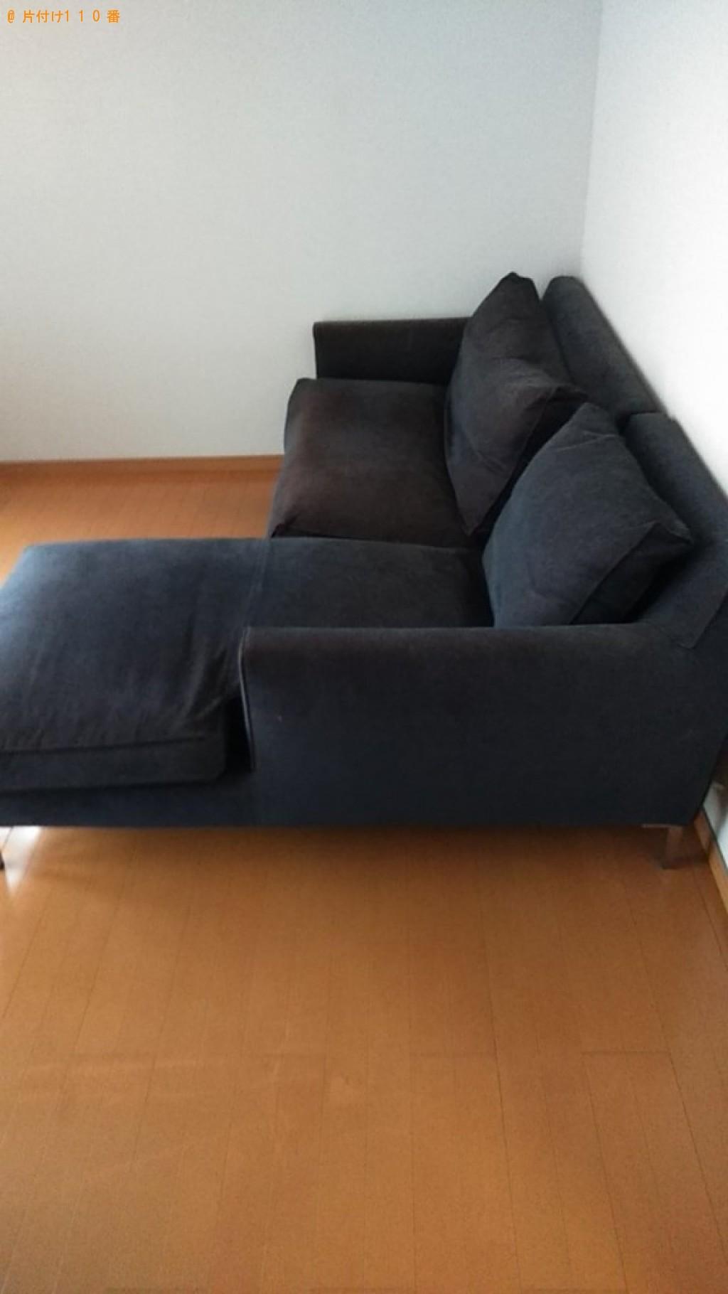 【今治市】テレビ、三人掛けソファーの回収・処分ご依頼 お客様の声