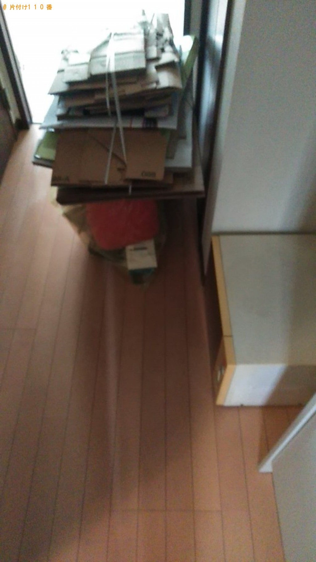 【松山市若草町】電子レンジ、一般ごみ、ダンボール等の回収・処分